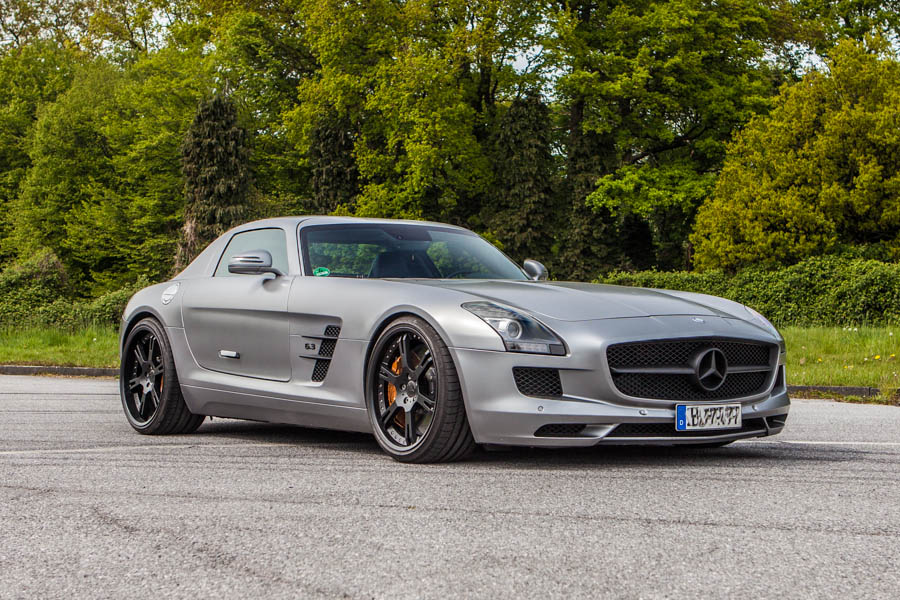 Sls Amg Grau Matt Star Performance Gmbh